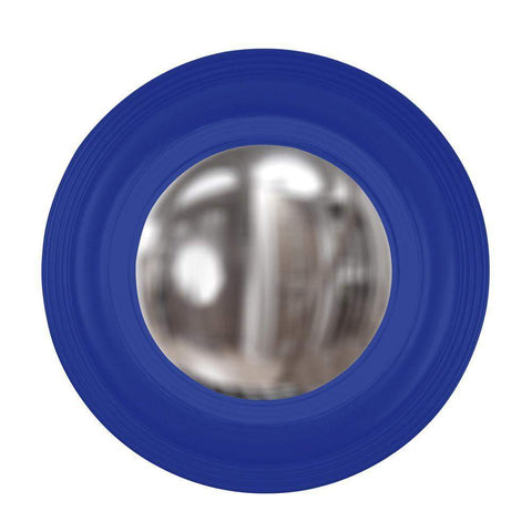 Howard Elliott Soho Royal Blue Mirror 14H x 14W x 2D - 51276RB-Wall Mirror-Floor Mirror Gallery