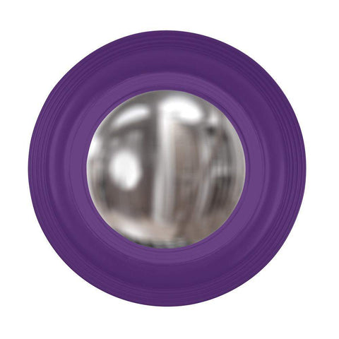 Howard Elliott Soho Royal Purple Mirror 14H x 14W x 2D - 51276RP-Wall Mirror-Floor Mirror Gallery