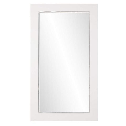 Howard Elliott Titan White Mirror 84H x 48W x 3D - 51283-Wall Mirror-Floor Mirror Gallery