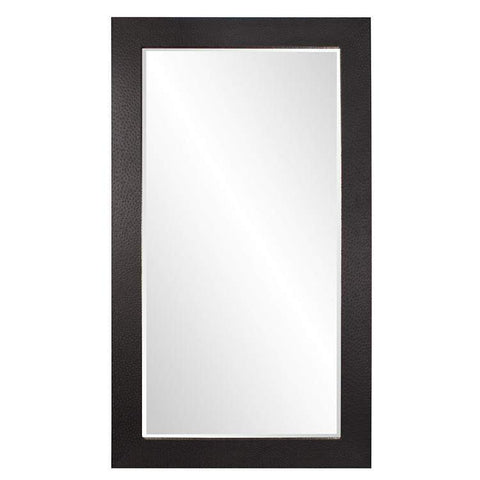 Howard Elliott Wilde Black Mirror 84H x 48W x 2D - 51284-Wall Mirror-Floor Mirror Gallery