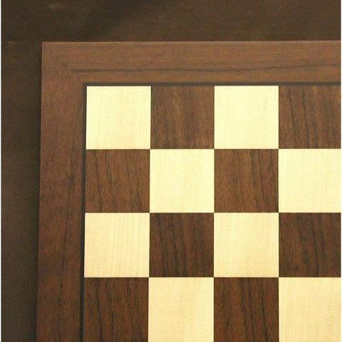 "21"" Dark Rosewood and Maple Board, Ferrer, Spain, 55520DR, by WorldWise Imports-Chess Board-Floor Mirror Gallery"
