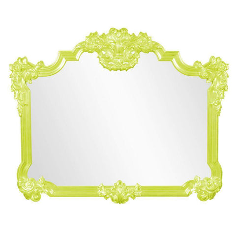 Howard Elliott Avondale Green Mirror 48H x 39W x 2D - 56006MG-Wall Mirror-Floor Mirror Gallery