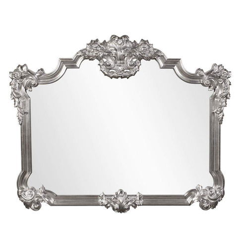 Howard Elliott Avondale Nickel Mirror 48H x 39W x 2D - 56006N-Wall Mirror-Floor Mirror Gallery