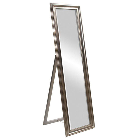 Howard Elliott Taylor Silver Mirror 65H x 20W x 20D - 56019-Wall Mirror-Floor Mirror Gallery
