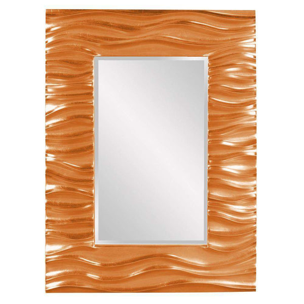 Howard Elliott Zenith Orange Mirror 39H x 31W x 2D - 56042O-Wall Mirror-Floor Mirror Gallery