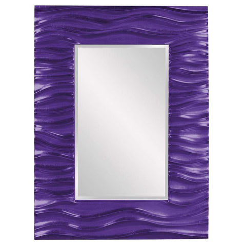 Howard Elliott Zenith Royal Purple Mirror 39H x 31W x 2D - 56042RP-Wall Mirror-Floor Mirror Gallery