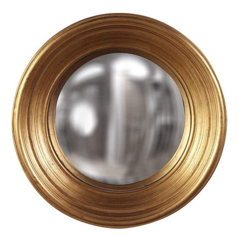 Howard Elliott Silas Country Gold Mirror - Medium 20H x 20W x 4D - 56133-Wall Mirror-Floor Mirror Gallery