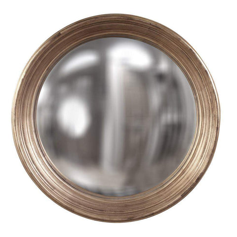 Howard Elliott Silas Silver Mirror - Large 34H x 34W x 4D - 56134-Wall Mirror-Floor Mirror Gallery