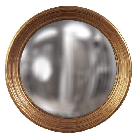 Howard Elliott Silas Country Gold Mirror - Large 34H x 34W x 4D - 56135-Wall Mirror-Floor Mirror Gallery