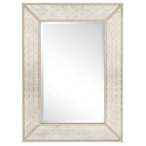 Howard Elliott Rockefeller Antiqued Mirror 48H x 35W x 1D - 60001-Wall Mirror-Floor Mirror Gallery