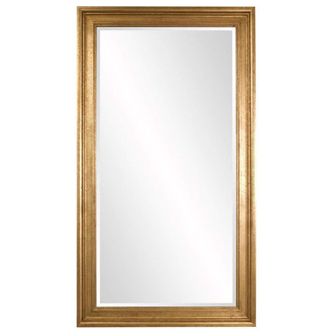 Howard Elliott Chandler Oversized Gold Mirror 82H x 46W x 2D - 60004-Wall Mirror-Floor Mirror Gallery