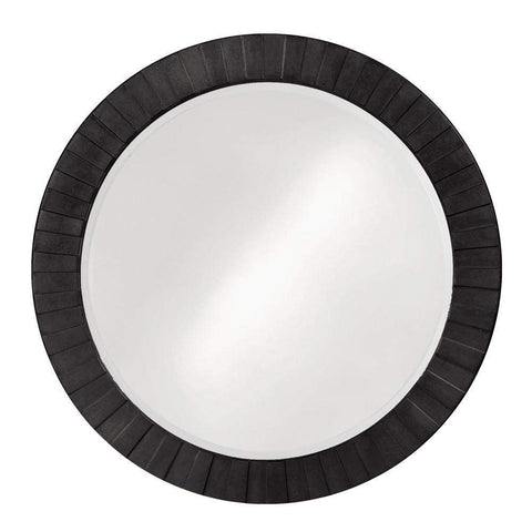 Howard Elliott Serenity Black Mirror 35H x 35W x 1D - 6002BL-Wall Mirror-Floor Mirror Gallery
