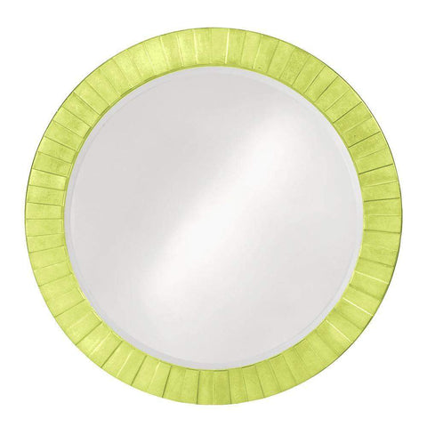 Howard Elliott Serenity Green Mirror 35H x 35W x 1D - 6002MG-Wall Mirror-Floor Mirror Gallery
