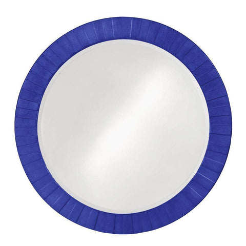 Howard Elliott Serenity Royal Blue Mirror 35H x 35W x 1D - 6002RB-Wall Mirror-Floor Mirror Gallery