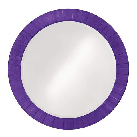 Howard Elliott Serenity Royal Purple Mirror 35H x 35W x 1D - 6002RP-Wall Mirror-Floor Mirror Gallery