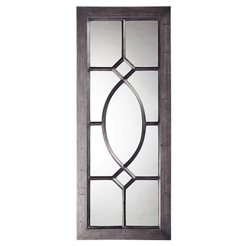 Howard Elliott Dayton Charcoal Gray Mirror 53H x 21W x 1D - 60108CH-Wall Mirror-Floor Mirror Gallery