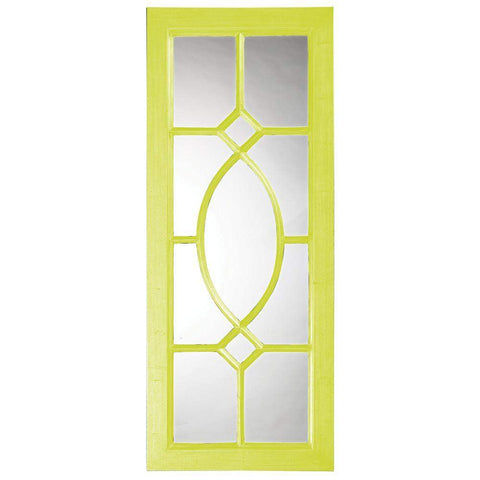 Howard Elliott Dayton Green Mirror 53H x 21W x 1D - 60108MG-Wall Mirror-Floor Mirror Gallery