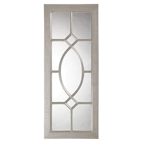 Howard Elliott Dayton Nickel Mirror 53H x 21W x 1D - 60108N-Wall Mirror-Floor Mirror Gallery
