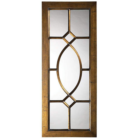 Howard Elliott Dayton Window Mirror 53H x 21W x 1D - 60108-Wall Mirror-Floor Mirror Gallery