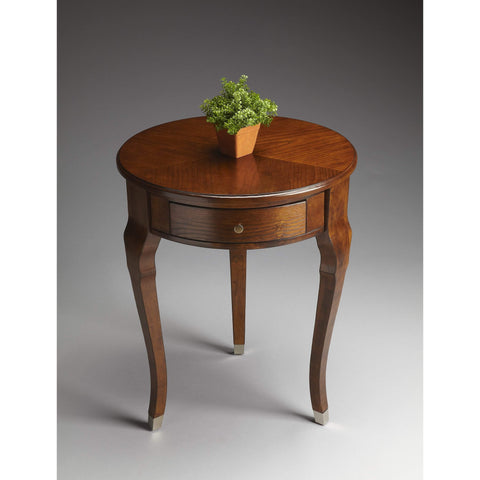 Butler Kiley Chestnut Side Table 6014108-ACCENT TABLE-Floor Mirror Gallery