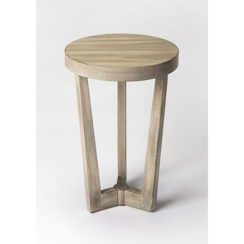 Butler Aphra Driftwood Accent Table 6021247-ACCENT TABLE-Floor Mirror Gallery