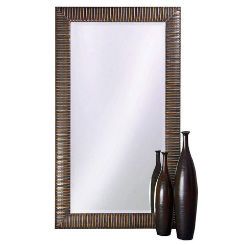 Howard Elliott Alexander Leaner Mirror 82H x 46W x 2D - 6062-Wall Mirror-Floor Mirror Gallery