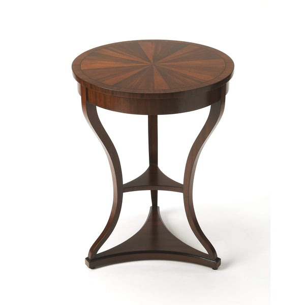 Butler Salma Mahogany End Table 6235350-Accent Table-Floor Mirror Gallery