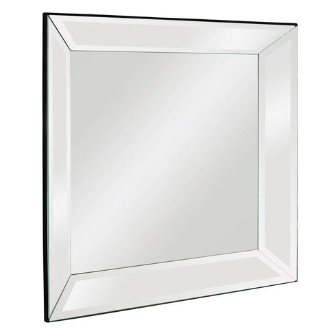 Howard Elliott Vogue Modern Tall Mirror 30H x 30W x 3D - 65018-Wall Mirror-Floor Mirror Gallery