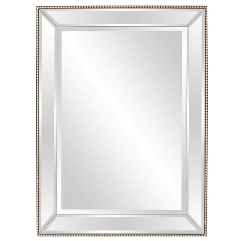 Howard Elliott Roberto Mirrored Mirror 48H x 36W x 3D - 65036-Wall Mirror-Floor Mirror Gallery