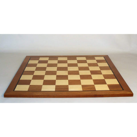 "23.5"" Sapele & Maple Brd, WW Chess, China, 65600SM, by WorldWise Imports-Chess Board-Floor Mirror Gallery"