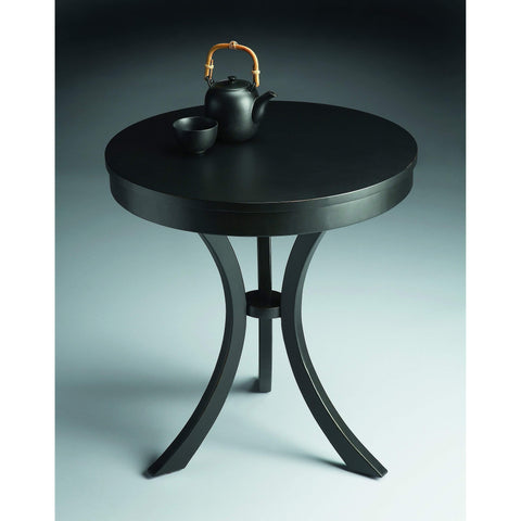 Butler Gerard Black Licorice Side Table 7007111-ACCENT TABLE-Floor Mirror Gallery