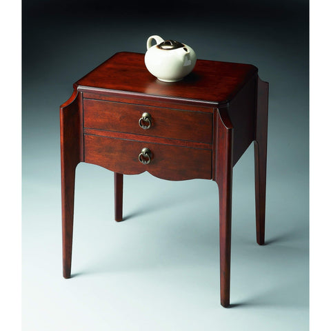 Butler Wilshire Plantation Cherry Accent Table 7016024-Accent Table-Floor Mirror Gallery