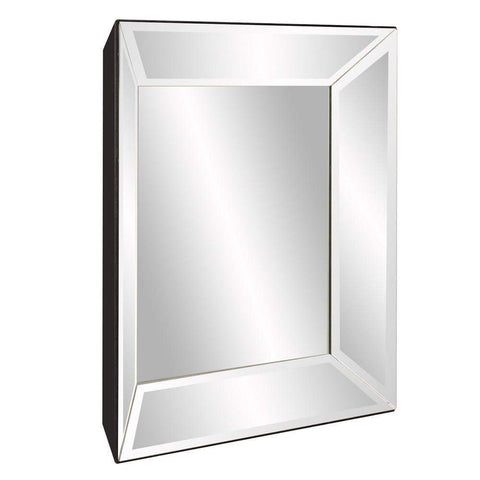 Howard Elliott Vogue Inward Square Mirror 30H x 30W x 3D - 79019-Wall Mirror-Floor Mirror Gallery