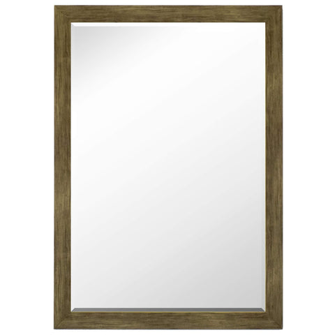 "Hitchcock Butterfield Chesapeake II Wall Mirror 33.25""W x 43.25""H, Brown, SemiGloss 812203-Wall Mirror-Floor Mirror Gallery"