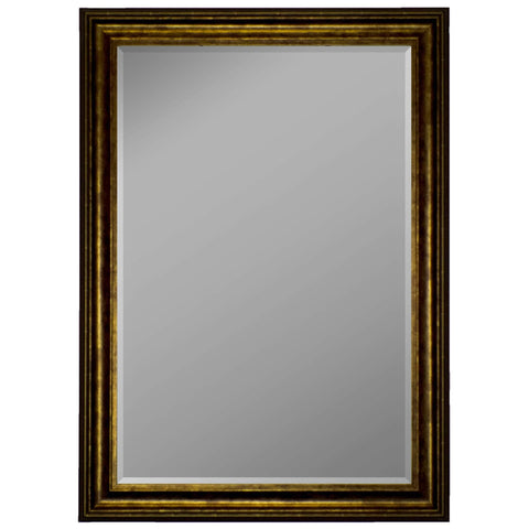 "Hitchcock Butterfield Essex Wall Mirror 35.25""W x 45.25""H, Gold, SemiGloss 812603-Wall Mirror-Floor Mirror Gallery"