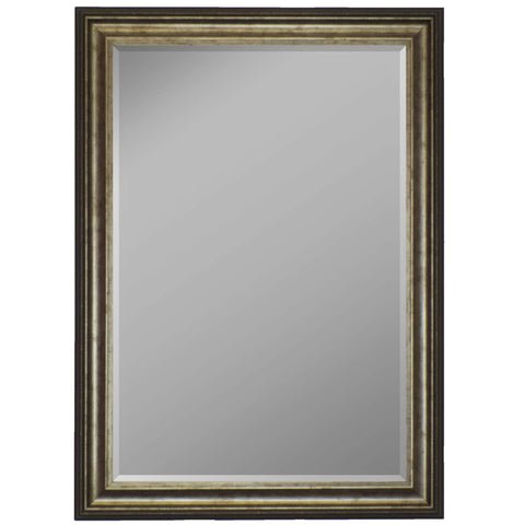 "Hitchcock Butterfield Essex II Wall Mirror 17.25""W x 35.25""H, Silver, SemiGloss 8127000-Wall Mirror-Floor Mirror Gallery"