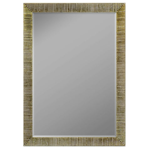 "Hitchcock Butterfield Jacquemyn Wall Mirror 34.25""W x 44.25""H, Silver, SemiGloss 812803-Wall Mirror-Floor Mirror Gallery"