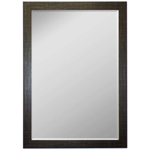 "Hitchcock Butterfield Flannel Wall Mirror 24.75""W x 34.75""H, Silver, SemiGloss 812900-Wall Mirror-Floor Mirror Gallery"