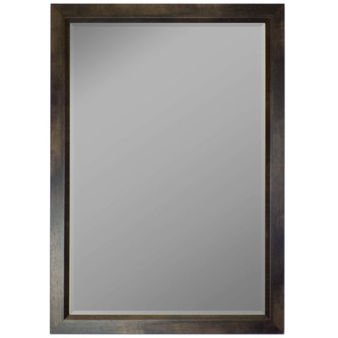 "Hitchcock Butterfield Armand Wall Mirror 33.75""W x 43.75""H, Mahogany, SemiGloss 813103-Wall Mirror-Floor Mirror Gallery"