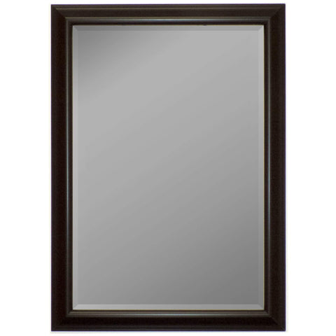 "Hitchcock Butterfield Marbella Wall Mirror 25.25""W x 35.25""H, Charcoal Gray, Gloss 813300-Wall Mirror-Floor Mirror Gallery"
