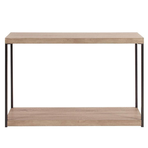 Howard Elliott Wood & Metal Console Table 31H x 47W x 16D - 83036-Accent Table-Floor Mirror Gallery