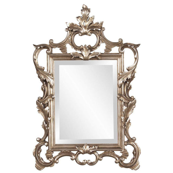 Howard Elliott Andrews Scroll Mirror 32H x 20W x 2D - 84012-Wall Mirror-Floor Mirror Gallery