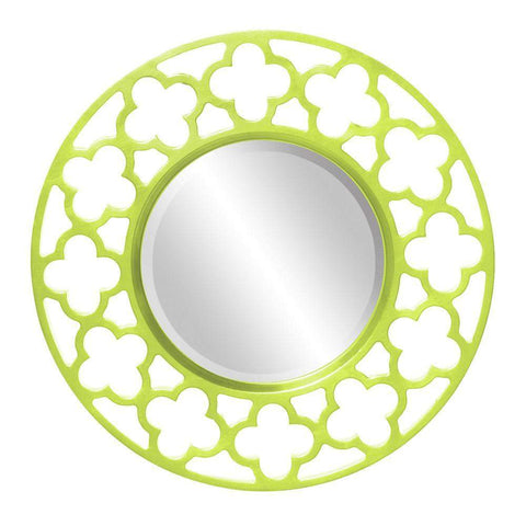 Howard Elliott Gaelic Green Mirror 20H x 20W x 1D - 92007MG-Wall Mirror-Floor Mirror Gallery