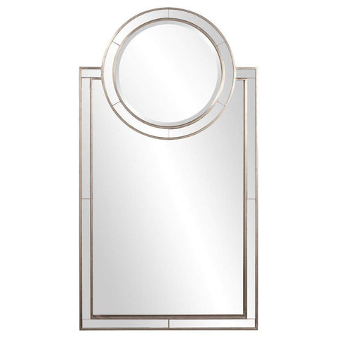 Howard Elliott Cosmopolitan Arched Mirror 44H x 24W x 2D - 92042-Wall Mirror-Floor Mirror Gallery