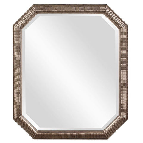 Howard Elliott Virginia Octagonal Mirror 36H x 30W x 1D - 92091-Wall Mirror-Floor Mirror Gallery