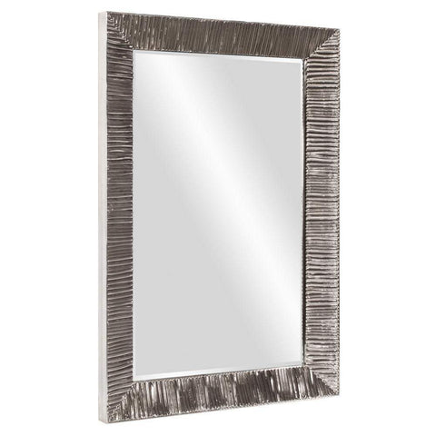 Howard Elliott Tennessee Ribbed Rectangular Mirror 60H x 40W x 3D - 92098-Wall Mirror-Floor Mirror Gallery