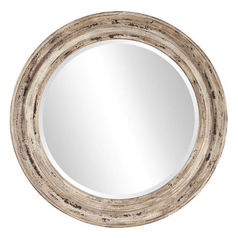 Howard Elliott Maisey Rustic Round Mirror 36H x 36W x 2D - 92115-Wall Mirror-Floor Mirror Gallery