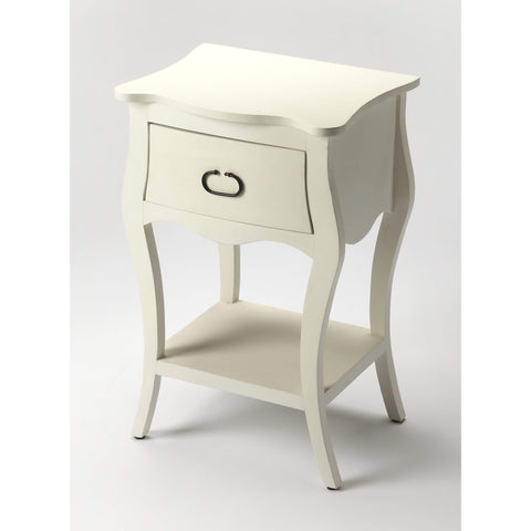 Butler Rochelle Off White Nightstand 9308288-Chairside Chests-Floor Mirror Gallery