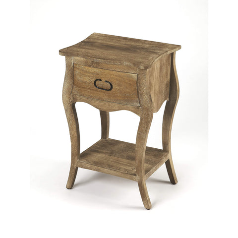 Butler Rochelle Natural Nightstand 9308312-ACCENT TABLE-Floor Mirror Gallery