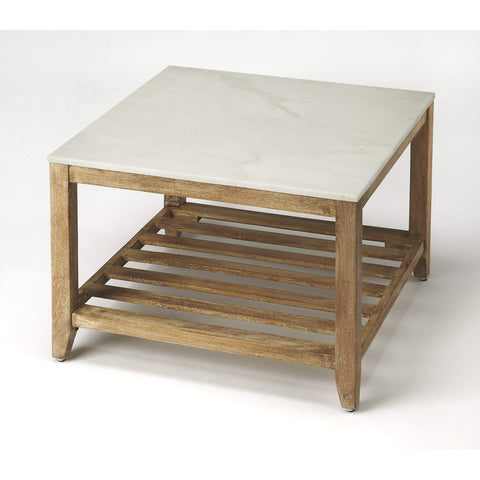 Butler Brayden Marble Bunching Coffee Table 9348312-Cocktail Tables-Floor Mirror Gallery